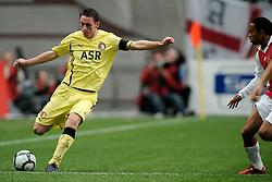 25-04-2010 VOETBAL: AJAX - FEYENOORD: AMSTERDAM<br /> De eerste wedstrijd in de bekerfinale is gewonnen door Ajax met 2-0 / Stefan de Vrij<br /> ©2009-WWW.FOTOHOOGENDOORN.NL