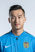 **EXCLUSIVE**Portrait of Chinese soccer player Tian Yinong of Jiangsu Suning F.C. for the 2018 Chinese Football Association Super League, in Nanjing city, east China's Jiangsu province, 23 February 2018.