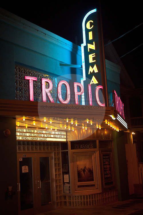 Tropic Cinema movie theatre in Key West, Florida