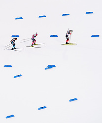 March 16, 2019 - –Stersund, Sweden - 190316 Antonin Guigonnat of France, Mikito Tachizaki of Japan and Lars Helge Birkeland of Norway compete in the Men's 4x7,5 km Relay during the IBU World Championships Biathlon on March 16, 2019 in Östersund..Photo: Petter Arvidson / BILDBYRÃ…N / kod PA / 92269 (Credit Image: © Petter Arvidson/Bildbyran via ZUMA Press)