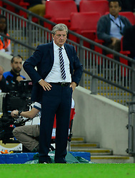 England Manager, Roy Hodgson - Photo mandatory by-line: Joe Meredith/JMP - Mobile: 07966 386802 - 3/09/14 - SPORT - FOOTBALL - London - Wembley Stadium - England v Norway - International Friendly