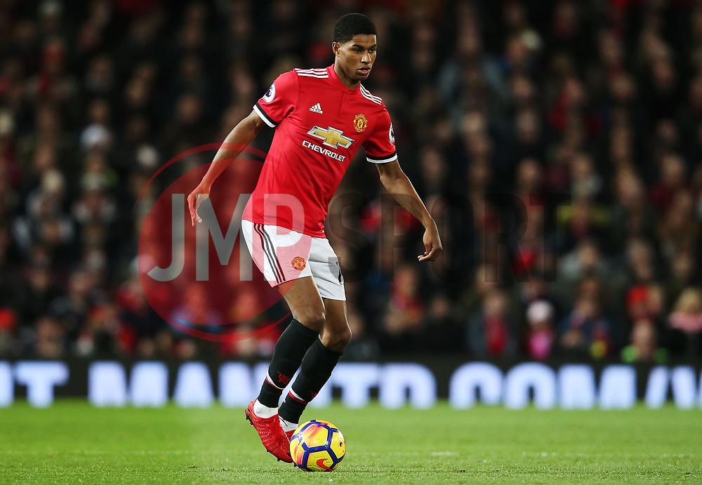 Marcus Rashford of Manchester United - Mandatory by-line: Matt McNulty/JMP - 18/11/2017 - FOOTBALL - Old Trafford - Manchester, England - Manchester United v Newcastle United - Premier League