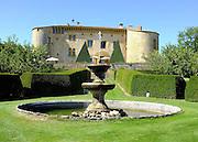 © Licensed to London News Pictures. 09/08/2012. Bagnols, France. Chateau de Bagnols. Photo credit : Stephen Simpson/LNP