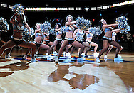 Jan. 24, 2012; Phoenix, AZ, USA; The Phoenix Suns dancers perform at the US Airways Center prior to a game against the Toronto Raptors. The Raptors defeated the Suns 99-96. Mandatory Credit: Jennifer Stewart-US PRESSWIRE.