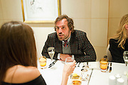 AMANDA SHEPPARD; ANDREAS KRONTHALER, Graydon Carter hosts a dinner to celebrate the reopening og the American Bar at the Savoy.  Savoy Hotel, Strand. London. 28 October 2010. -DO NOT ARCHIVE-© Copyright Photograph by Dafydd Jones. 248 Clapham Rd. London SW9 0PZ. Tel 0207 820 0771. www.dafjones.com.