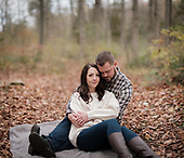 Alysha & James' Chilly Apps Mills Engagement Session