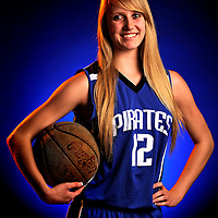 Appeal-Democrat 2012-2013 Basketball first team: Wheatland High's Kassidy Heuvelhorst. (Nate Chute/Appeal-Democrat)