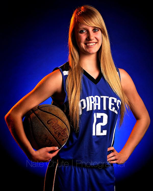 Appeal-Democrat 2012-2013 Basketball first team: Wheatland High's Kassidy Heuvelhorst. (Nate Chute/Appeal-Democrat)