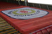 Main stand during the EFL Sky Bet League 2 match between Crewe Alexandra and Lincoln City at Alexandra Stadium, Crewe, England on 26 December 2018.