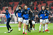 Jay Rodriguez (19) of West Bromwich Albion warming up before the Premier League match between Bournemouth and West Bromwich Albion at the Vitality Stadium, Bournemouth, England on 17 March 2018. Picture by Graham Hunt.