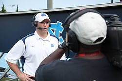09 May 2009: North Carolina Tar Heels head coach Joe Breschi during a 15-13 win over the University of Maryland - Baltimore County Retrievers on Fetzer Field in Chapel Hill, NC.