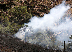 A grass fire in scenic Glen Etive this afternoon saw the fire appliance from Kinlochleven attend to dampen down the flames and surrounding moorland........ <br /> (c) Stephen Lawson | Edinburgh Elite media