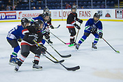 KELOWNA, CANADA - FEBRUARY 20:  Mini Minor Game at the Kelowna Rockets game on February 20, 2018 at Prospera Place in Kelowna, British Columbia, Canada.  (Photo By Cindy Rogers/Nyasa Photography,  *** Local Caption ***
