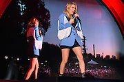 Photo of Ellie Goulding performing live on stage at Global Citizen Festival in Central Park, NYC on September 24, 2016. © Matthew Eisman. All Rights Reserved