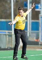 ROTTERDAM -    Umpire     Practice Match  Hockey : Netherlands Boys U16  v England U16 . COPYRIGHT KOEN SUYK