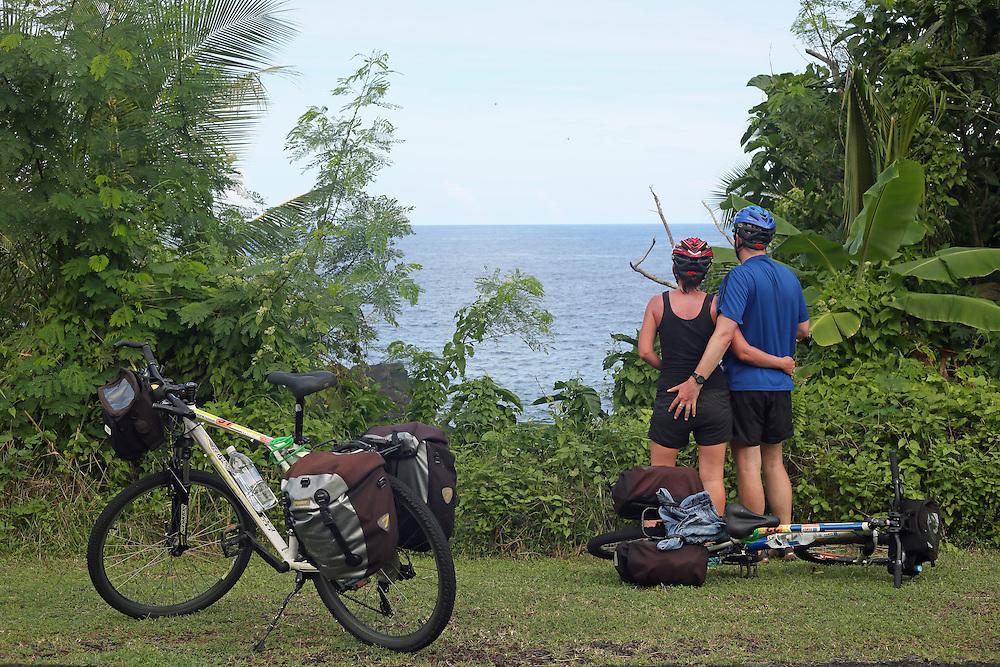 travel photography cycle touring savaii samoa