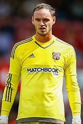 David Button of Brentford - Mandatory by-line: Jason Brown/JMP - Mobile 07966 386802 25/07/2015 - SPORT - FOOTBALL - Brentford, Griffin Park - Brentford v Stoke City - Pre-Season Friendly