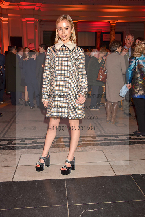 Lady Amelia Windsor at the Mary Quant VIP Preview at The Victoria & Albert Museum, London, England. 03 April 2019. <br /> <br /> ***For fees please contact us prior to publication***