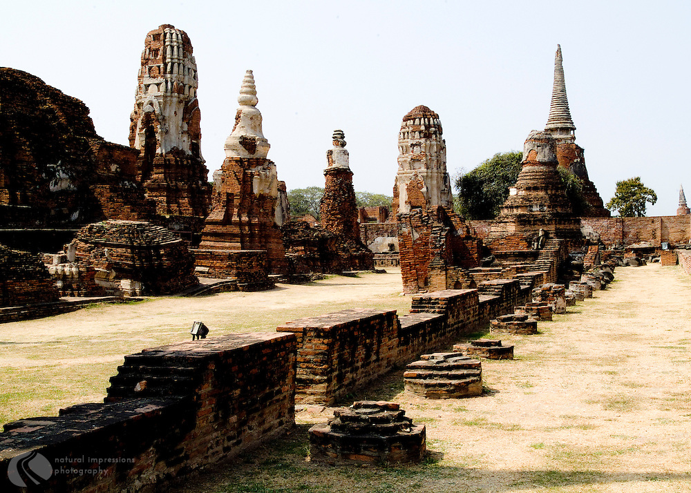 Ayuthaya Temple Ruins, a few hours from Bangkok