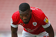 Dimitri Cavaré of Barnsley  during the EFL Sky Bet Championship match between Barnsley and Swansea City at Oakwell, Barnsley, England on 19 October 2019.