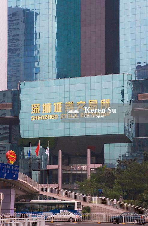 Shenzhen Stock Exchange, Shenzhen, Guangdong Province, China