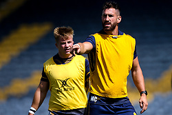 Matt Cox of Worcester Warriors during training ahead of the Gallagher Premiership fixture against Harlequins - Mandatory by-line: Robbie Stephenson/JMP - 24/08/2020 - RUGBY - Sixways Stadium - Worcester, England - Worcester Warriors Training