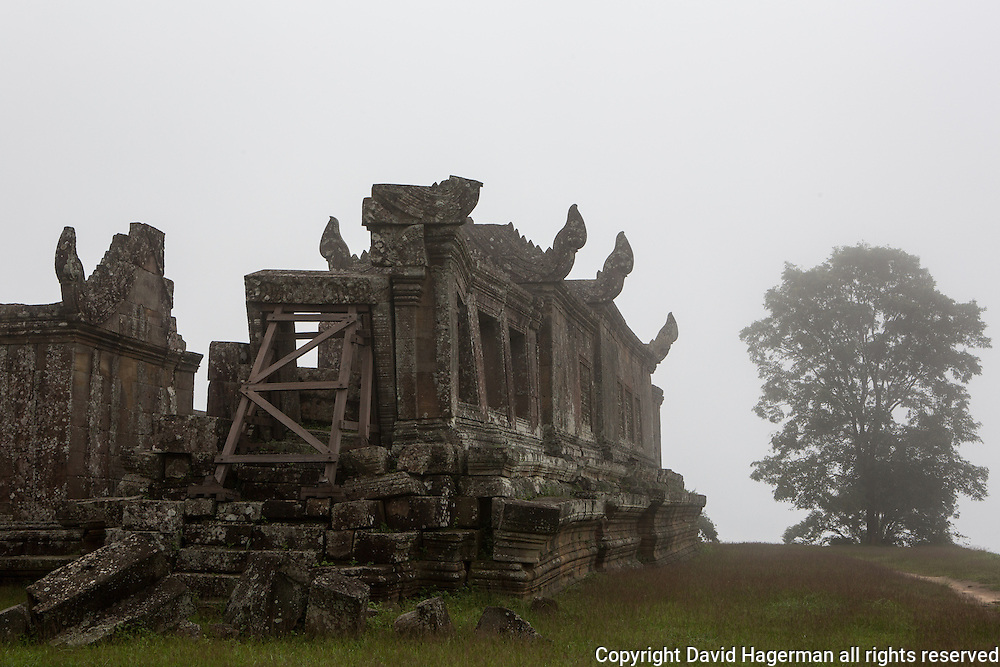 The temple complex of Preah Vihear, Cambodia