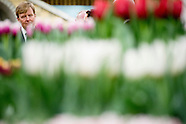 King Willem Alexander conducted Wednesday 4 March, the opening of the 35th Spring Garden Breezand