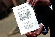 His highness prince Pieter-Christiaan of Oranje Nassau, of Vollenhoven and Ms drs. A.T. van Eijk get married  in the Great or St Jeroens Church in Noordwijk. <br /> <br /> <br /> Zijne Hoogheid Prins Pieter-Christiaan van Oranje-Nassau, van Vollenhoven en mevrouw drs. A.T. van Eijk treden in het (kerkelijk) huwelijk in de Grote St. Jeroenskerk in Noordwijk<br /> <br /> On the photo/Op de foto:<br /> <br /> <br /> <br />  De liturgie van het huwelijk