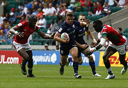 May 26, 2019 - Twickenham, England, United Kingdom - Gavin Lowe of Scotland.during The HSBC World Rugby Sevens Series 2019 London 7s Challenge Trophy Quarter Final Match 28 between Kenya and Scotland at Twickenham on 26 May 2019. (Credit Image: © Action Foto Sport/NurPhoto via ZUMA Press)