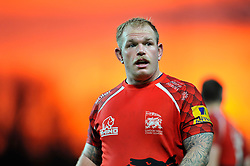 Ricky Reeves of London Welsh looks on - Photo mandatory by-line: Patrick Khachfe/JMP - Mobile: 07966 386802 23/11/2014 - SPORT - RUGBY UNION - Oxford - Kassam Stadium - London Welsh v Leicester Tigers - Aviva Premiership