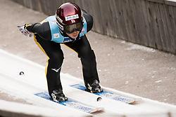 February 7, 2019 - Ljubno, Savinjska, Slovenia - Kaori Iwabuchi of Japan competes on qualification day of the FIS Ski Jumping World Cup Ladies Ljubno on February 7, 2019 in Ljubno, Slovenia. (Credit Image: © Rok Rakun/Pacific Press via ZUMA Wire)