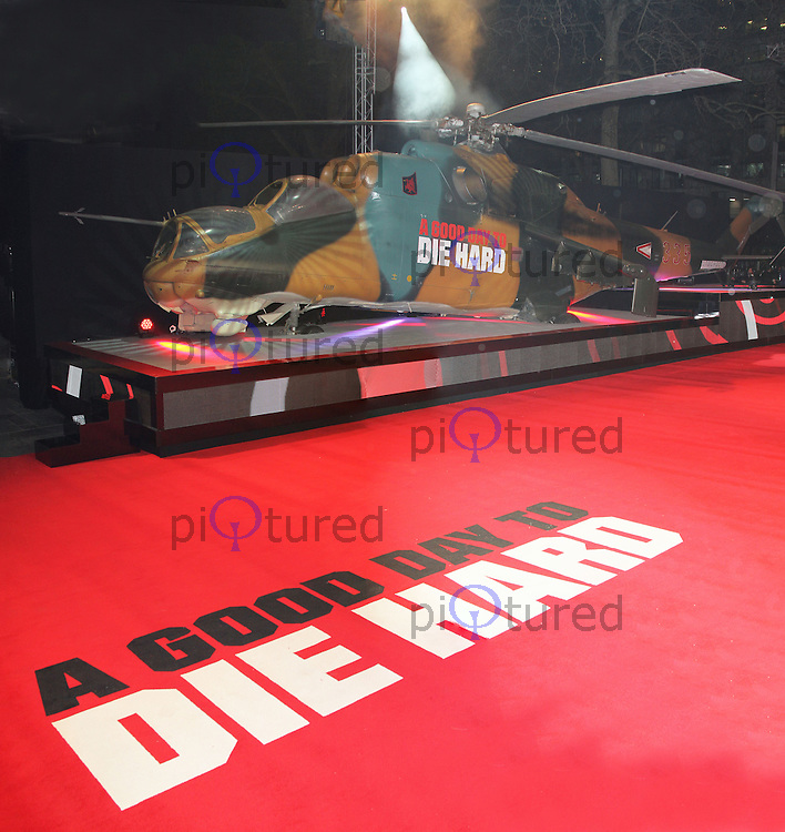 A Good Day To Die Hard - UK Film Premiere, Empire Cinema Leicester Square, London UK, 07 February 2013, (Photo by Richard Goldschmidt)
