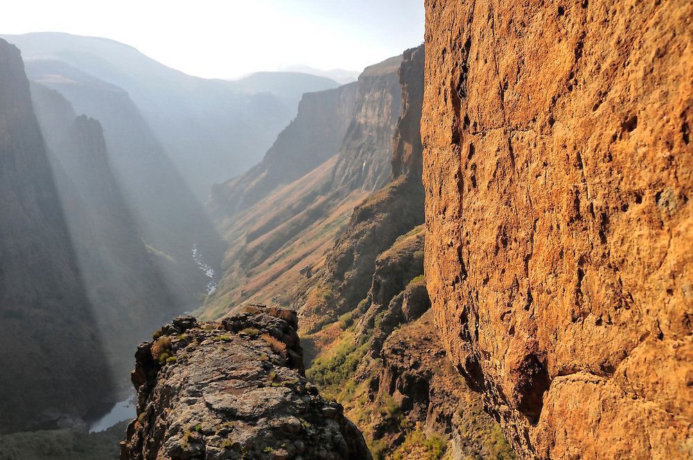 Canyon near Semonkong, Lesotho, South Africa