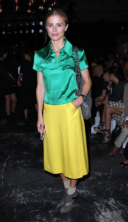 Laura Bailey at London Fashion Week  Spring / Summer 2012 , Saturday 17th September 2011.Photo by: Stephen Lock/i-Images