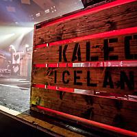 Kaleo in concert at The Barrowland Ballroom, Glasgow, Scotland, Britain 3rd November 2017