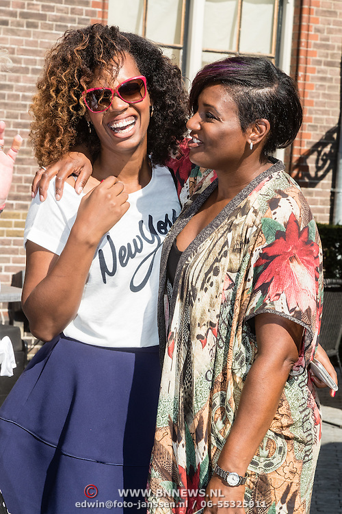 NLD/Amsterdam/20160908 - Talkies Lifestyle lunch 2016, Jasmine Sendar en Edsilia Rombley