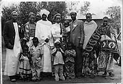 Nubian family celebrates Idd festival at their homestead in Makongeni in Kibera.  (1970s)