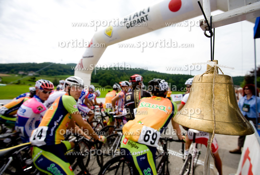 Bell at Slovenian National Championships in Road cycling, 178 km, on June 28 2009, in Mirna Pec, Slovenia. (Photo by Vid Ponikvar / Sportida)