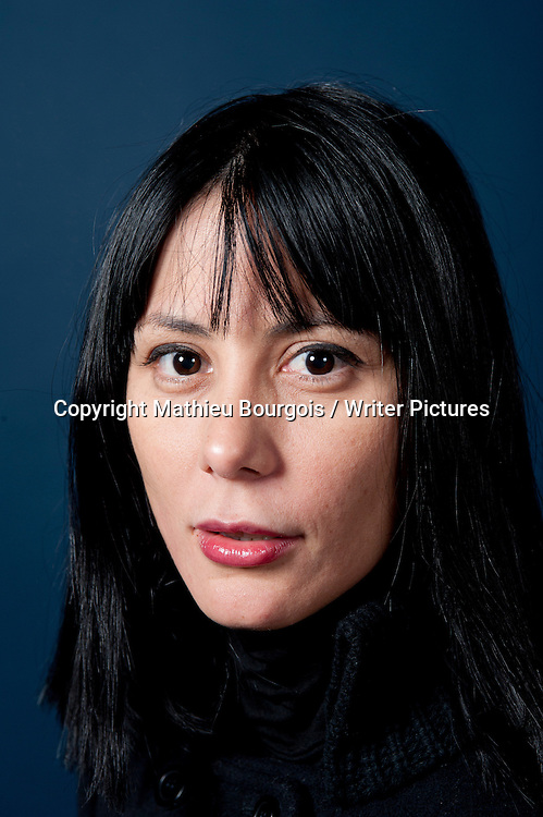 Wendy Guerra, Cuban writer, at the Festival America in Vincennes, Paris, France, September 15th, 2010. <br /> Copyright Mathieu Bourgois/ Writer Pictures.<br /> Contact +44 (0)20 822 41564<br /> info@writerpictures.com<br /> www.writerpictures.com