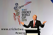 MELBOURNE, AUSTRALIA - JULY 30:  Prime Minister Kevin Rudd speaks during the Official Launch of the ICC Cricket World Cup 2015 on July 30, 2013 in Melbourne, Australia. Photo: Robert Prezioso/ ICC