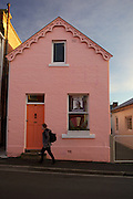 Pink House, Battery Point, Tasmania