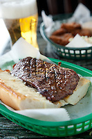 Rib-Eye Steak Sandwich at Dooley's Beef N' Brew House in St. Louis, MO.