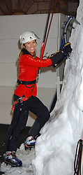 Mountaineer  ANNABELLE BOND at a party to celebrate the opening of the annual Somerset House Ice Rink at Somerset House, London on 23rd November 2005.<br />