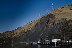 Windmills, Kodiak Island, Alaska, US