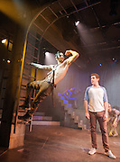 Pippin<br /> by Roger. O'Herson<br /> Music by Stephen Schwartz<br /> at The Menier Chocolate Factory, London, Great Britain <br /> press photocall<br /> 5th December 2011 <br /> <br /> Matt Rawle (as Leading player)<br /> Harry Hepple (as Pippin)<br /> Ian Kelsey (as Charles)<br /> David Page (as Lewis)<br /> Frances Ruffelle (as Fastrada)<br /> Louise Gold (as Berthe)<br /> Carly Bawden (as Catherine)<br /> Stuart Neal (as Theo)<br /> Ben Bunce (ensemble)<br /> Holly James<br /> Bob Harms<br /> Anabel Kutay<br /> Kate Tydman<br /> David McMullan<br /> <br /> <br /> <br /> <br /> Photograph by Elliott Franks