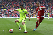 Brighton central midfielder, Beram Kayal (7)   during the Sky Bet Championship match between Middlesbrough and Brighton and Hove Albion at the Riverside Stadium, Middlesbrough, England on 7 May 2016. Photo by Simon Davies.