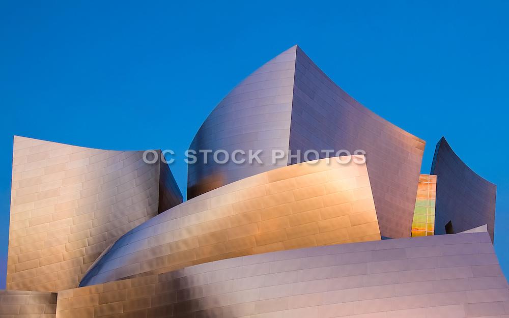 Walt Disney Concert Hall at Dusk