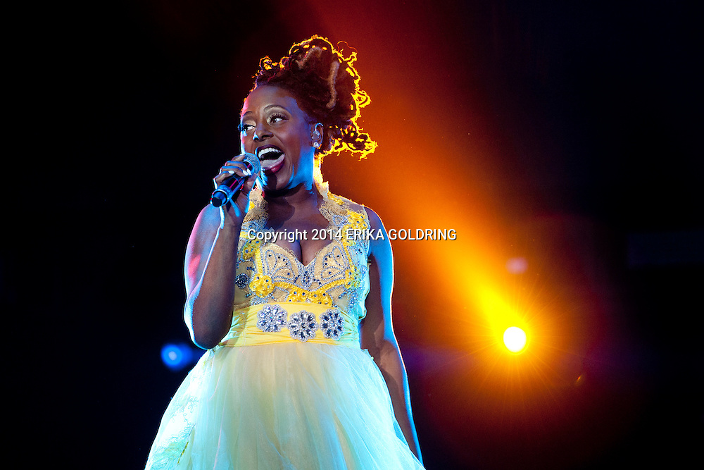 NEW ORLEANS, LA - JULY 05:  Ledisi peforms during the 2014 Essence Music Festival on July 5, 2014 in New Orleans, Louisiana.  (Photo by Erika Goldring/Getty Images) *** Local Caption *** Ledisi