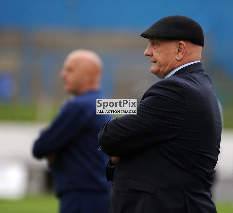 Cowdenbeath v Forfar Ladbrokes League 1 Central Park 19 September 2015<br /> <br /> Dick and Ian Campbell<br /> <br /> (c) David Wardle | StockPix.eu